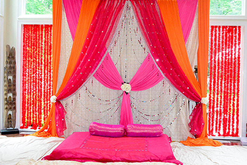indian weddding mandap