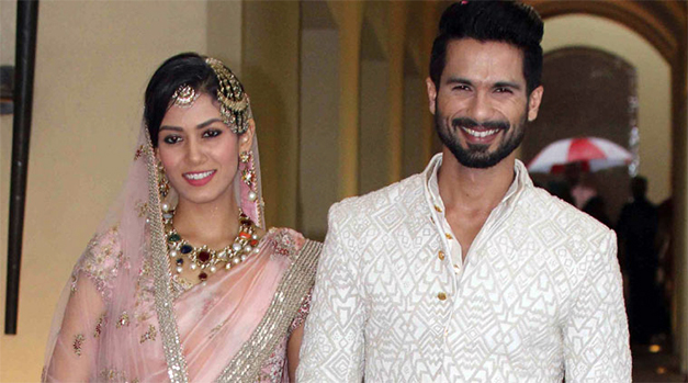 shahid kapoor and mira wedding photos