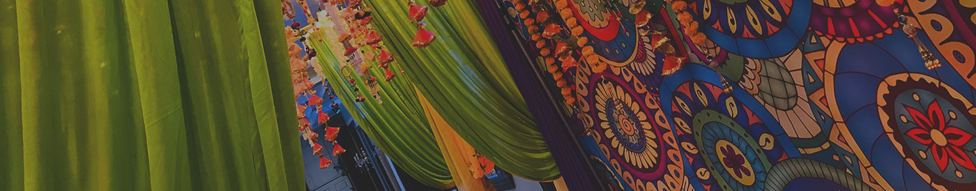 Wedding page banner
