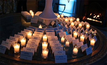candle lighting wedding