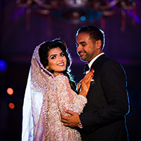 Hiba wedding couple