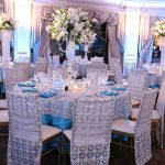 glamorous wedding table decoration