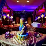 cake on table in event