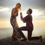 marriage proposal on beach