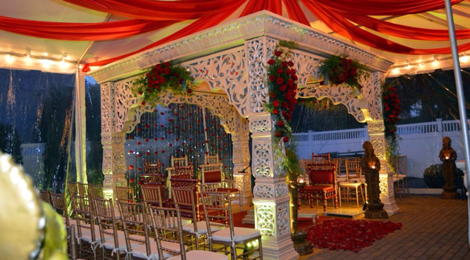 Red Indian Wedding Ideas