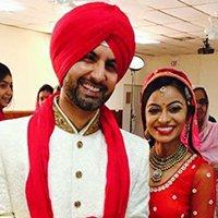 indiain wedding couple