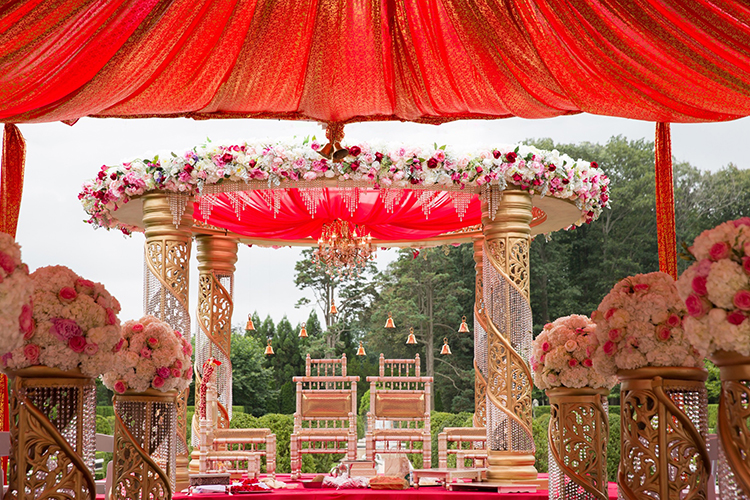 indian marriage mandap docre design