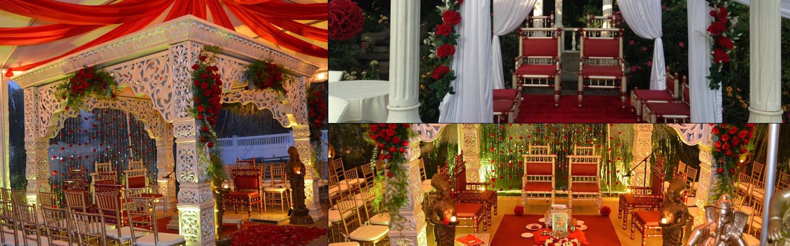 Floral Mandap Decoration - Wedding Flowers