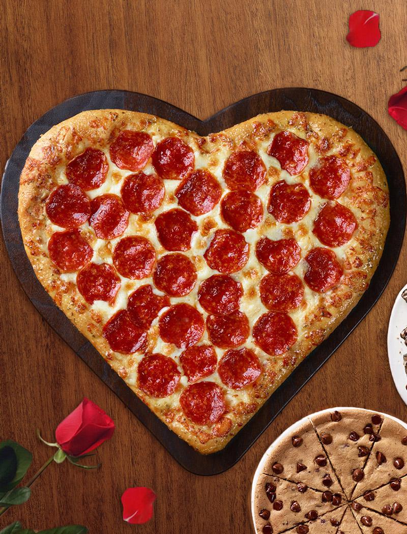 Make Heart Shaped Pizza