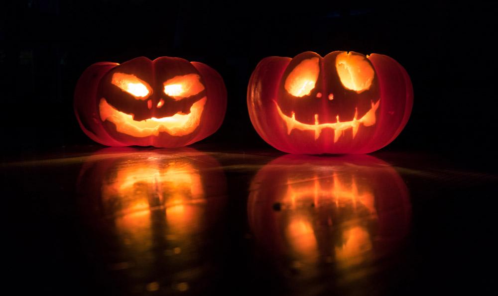 socially distanced Halloween